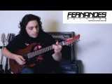 Fernandes Revolver X Shred Guitar - Eric Maldonado