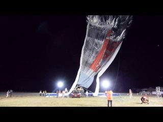 Вокруг света на воздушном шаре Мортон 2016. Часть I