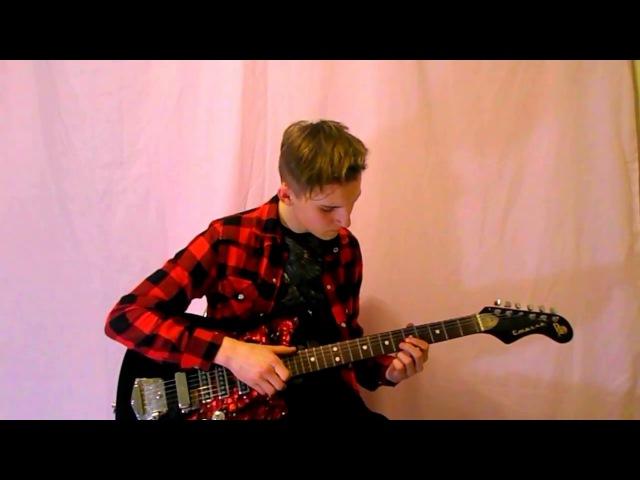 NIRVANA smeels like teen spirit (guitar cover)