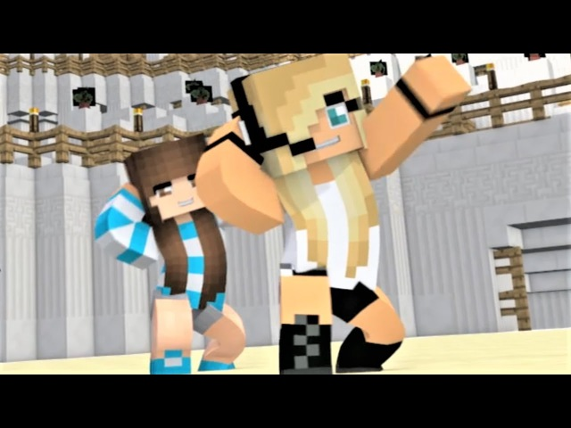 Minecraft Song Psycho Girl 6 - 1 Hour Version Psycho Girl Minecraft Animations Music Video Series