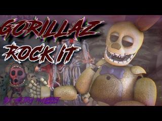 [FNAF SFM] GORILLAZ ROCK IT