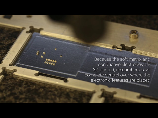 Hybrid 3D Printing Soft of Electronics
