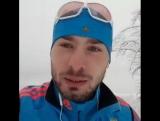 Антон Шипулин передаёт привет болельщикам сборной России по биатлону Ноябрь 2016)