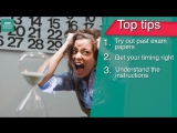 Exam skills׃ 6 tips for getting ready for your exams