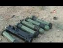 Последствия удара ВКС РФ по объектам террористов в Сирии