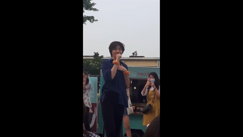170802 Dongwoo's Delicious Coffeetruck Recording 8