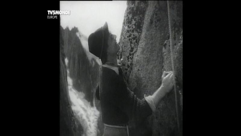 Первый в связке Альпинист Premier de cordee Луи Дакен Louis Daquin 1944 Франция приключенческая драма экранизация D