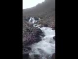 ...там, где кончается река..))))).. короткий путь для реки на вершине горы...Зачем и куда уходит вода...