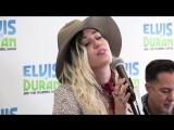 Майли Сайрус  Miley Cyrus - Malibu _ Elvis Duran Live  15 мая 2017