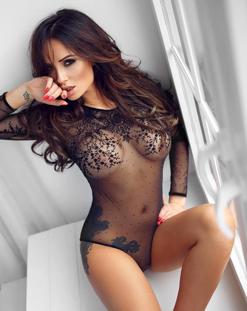 Hot clips elegant ass black dress
