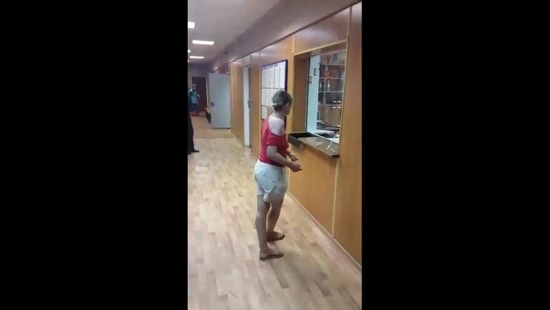 Урок Кунг Фу в стиле пьяный мастер в ОМВД