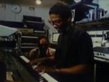 Herbie Hancock и Quincy Jones в студии 1984