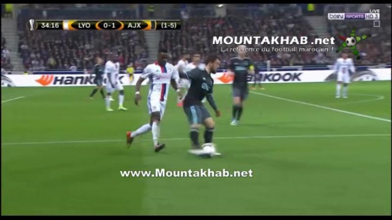 Hakim Ziyech vs Lyon