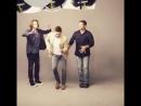 Дженсен, Джаред и Миша танцуют на фотосессии для EW