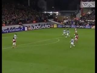 Dennis Bergkamp crazy skill vs Juventus