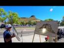 Художник из США рисует картины солнечным светом