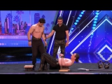 Azeri Brothers_ Scary Dudes Freak Out the Audience with Torture Stunts - Americas Got Talent 2017