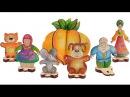 Рассказываем и показываем сказку Репка с деревянным конструктором ТМ Вуди/Woody