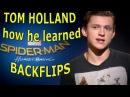 Tom Holland talks Spider-Man: Homecoming