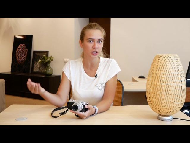 Наташа тестирует камеру Lumix для блогеров