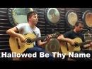 Hallowed Be Thy Name (Iron Maiden) Acoustic - Thomas Zwijsen Ben Woods - Master Guitar Tour 2016