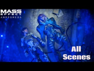 Jaal Ama Darav Full Story - All Scenes Dialogues and Romance - Mass Effect Andromeda