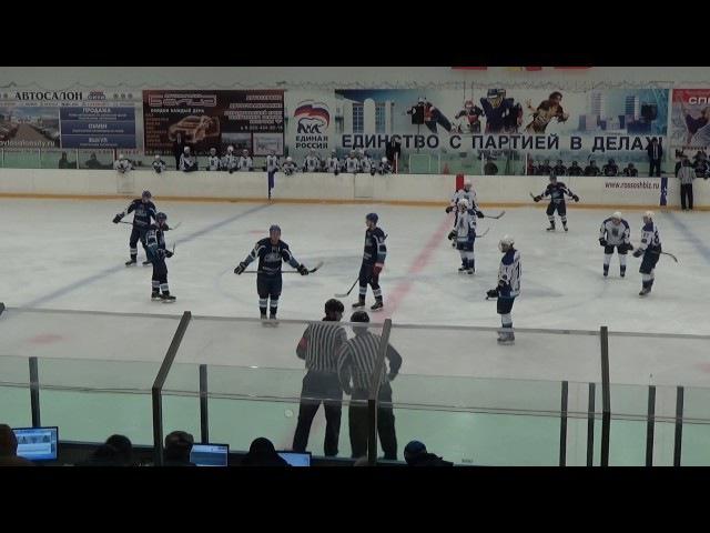 ХК Россошь - ХК Белгород. 2 период 30.10.16 г.