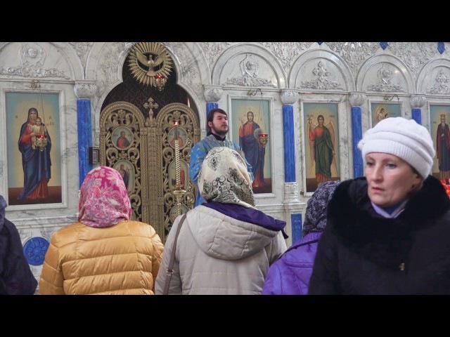 Проповедь иподьякона Кирилла Зиновьева