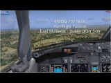 PMDG 737 NGX  Full Flight Tutorial  East Midlands to Dublin  Part 33