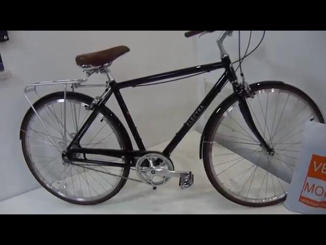 Городской велосипед для стильного парня - строгий красавец Electra