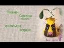 ✾✾✾Мастер-класс. Текстильная игрушка Покемон Семечка ✾✾✾