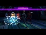 Marvel Future Fight - T2 Sharon Rogers(Starlight Armor) v Supergiant (No stirikers or leadership)