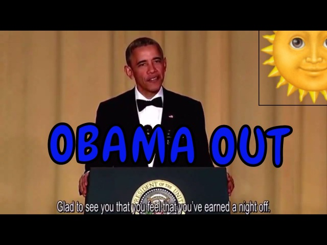 Obama out - The last speech of President Obama in White House - Practice Listening with Engsub