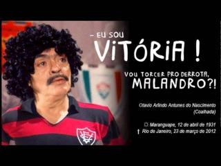Chico anysio canta hino do Esporte Clube Vitória (Homenagem ao mestre)