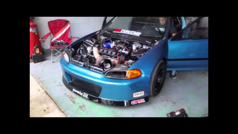 Haltech anti lag. Civic turbo cptuning
