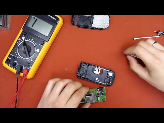 Nokia 1680. Заміна спікера.