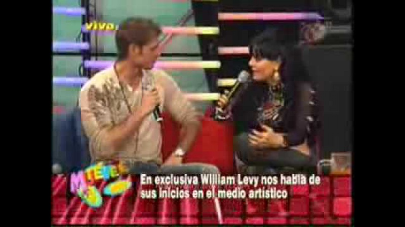 William Levy en Muevete 14 de marzo 2009