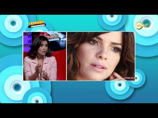 La actriz brasileña Vanessa Giácomo sonríe con nosotros