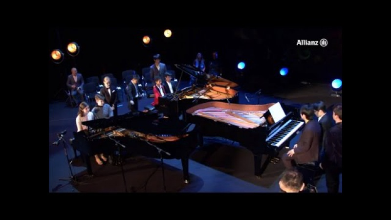 Lang Lang - Mozart (12 HANDS) Piano Sonata No. 11 in A major, K. 331 - III. Rondo alla Turca