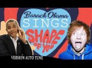 Barack Obama Singing Shape of You by Ed Sheeran VERSION AUTO TUNE NOW ON iTUNES