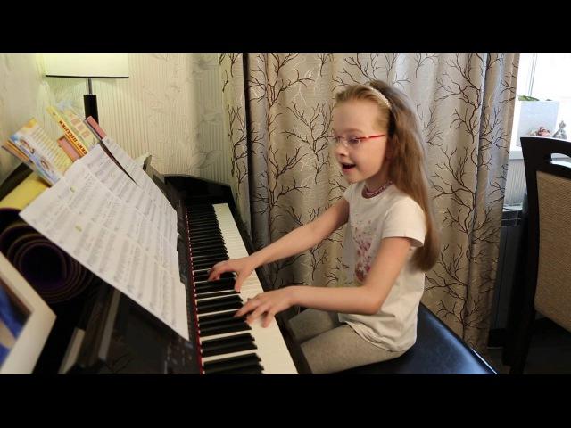 Выше головы ( cover SunSay ) Виктория Викторовна 7 лет.