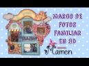 Фоторамка 1ª Parte Como hacer un marco de fotos en 3D con Gomaeva-Foamy Creaciones Mamem