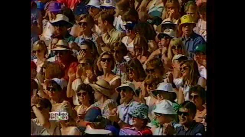 ATP world tour Pete Sampras vs Boris Becker 1995 Wimbledon Final and bonus footage