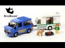 Lego City 60117 Van Caravan - Lego Speed Build