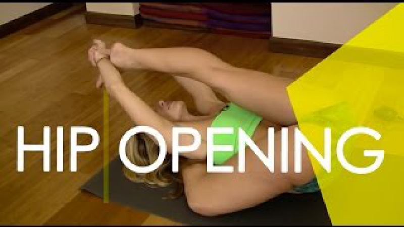Yoga Deep Hip Opening, Kasyapasana and Eka Pada Prep, Leg Behind the Head with Kino