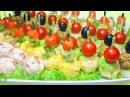 Праздничная закуска 3 вкусных рецепта 3 ЧАСТЬ