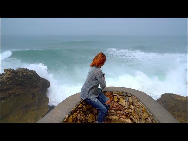 Самые большие волны в мире. Назаре. Португалия. Серфинг в Португалии.