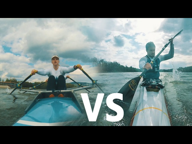 Rowing is Passion ROWER vs KAYAKER