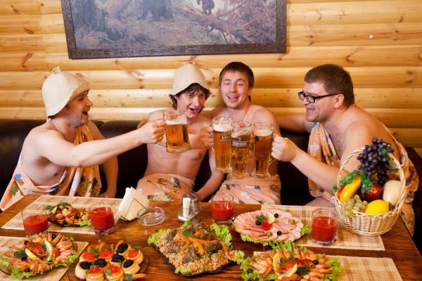 Можно ли пить пиво в бане