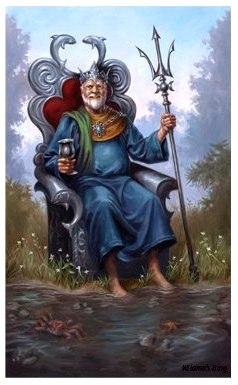 Короли  в таро на любовь в стихах  Bi-C3BAvzhI
